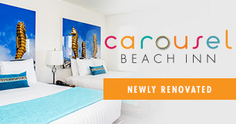 Carousel Beach Inn, Newly Renovated