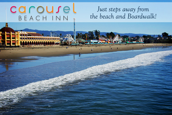 Carousel Beach Inn: Just Steps Away From the Boardwalk